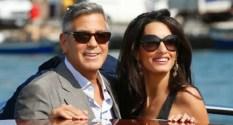 Venise : Mariage de George Clooney et Amal Alamuddin, brillante et élégante avocate libano-britannique
