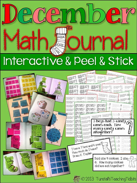 December Math Journal - Tunstall\u0027s Teaching Tidbits