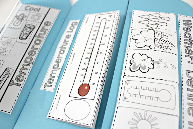 Weather Interactive Science Notebook - Tunstall\u0027s Teaching Tidbits