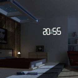 Digital Clock For Living Room