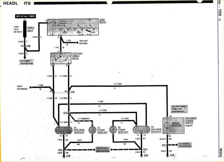 2000 Buick Headlight Wiring Wiring Diagram