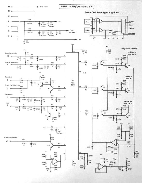 Pontiac Fiero Wiring Diagram Electronic Schematics collections