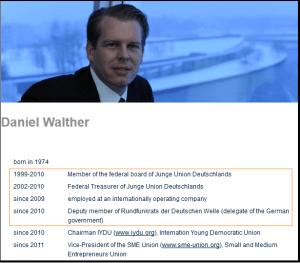 CV Daniel Walther