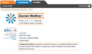 Daniel Walther Cassidian
