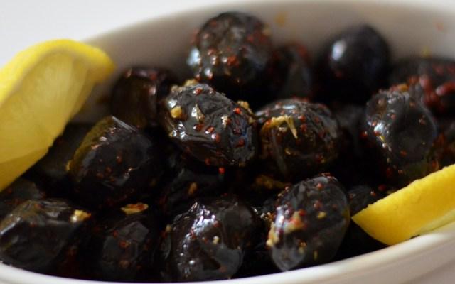 ZEYTIN, czyli oliwki marynowane