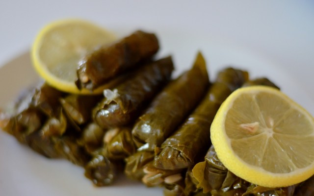 ZEYTİNYAĞLI SARMA, czyli faszerowane liście winogron