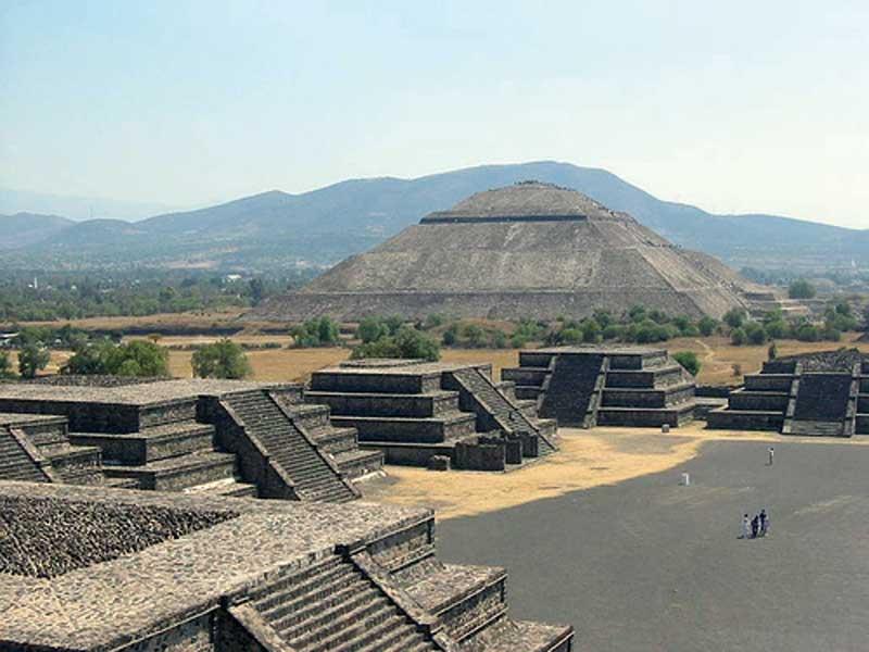 Sitios Arqueológicos en el Estado de México