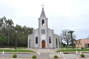 Igreja de Desvio Machado | Foto: Thais Cristina Formentini