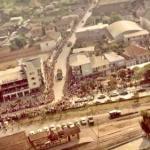 Desfile da Festa do Leite (final da década de 70) Foto: Banco de Imagens da Prefeitura