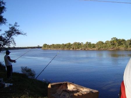 Pesca en La Charqueada