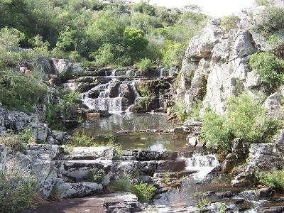 Cascada en la Quebrada - Vista Panorámica
