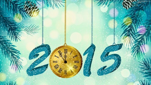 Medium Of Merry New Year