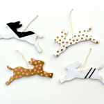 DIY Rabbit Ornaments