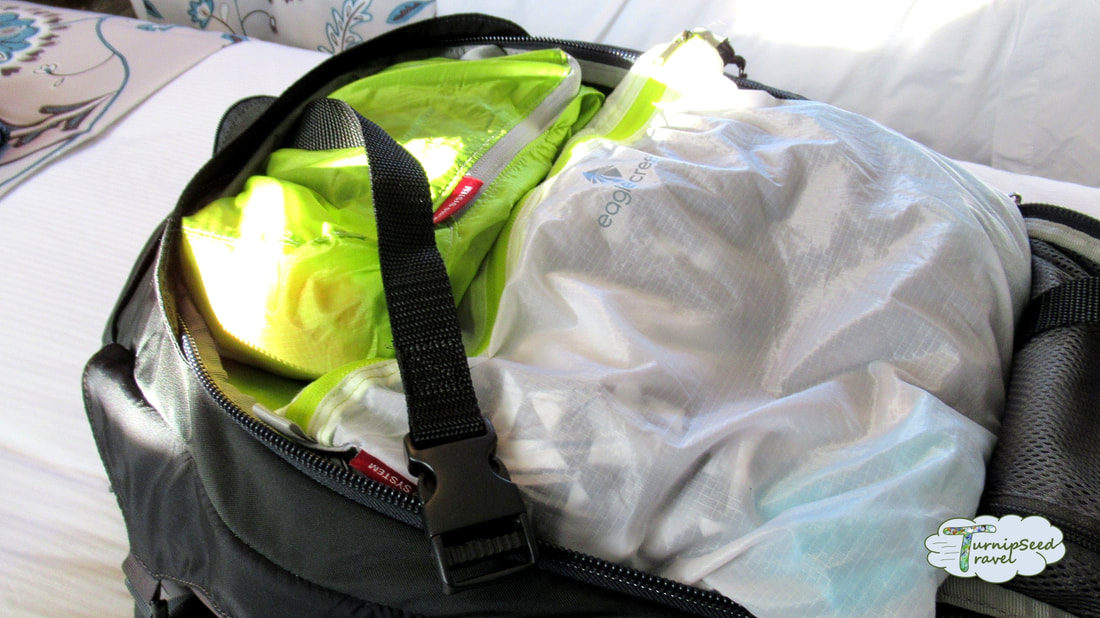 Our secret minimalist packing trick paracord!