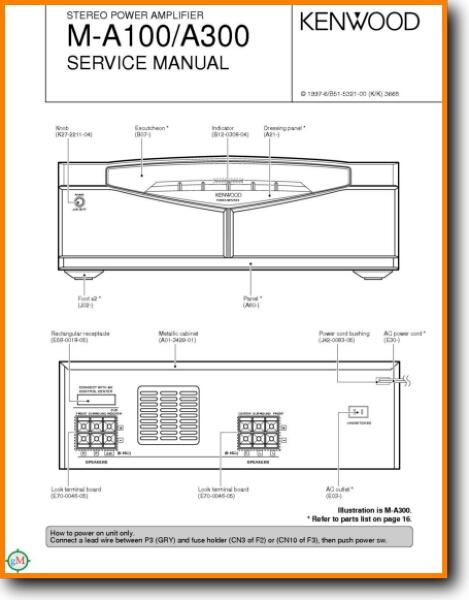 kenwood 921 amp wiring diagram