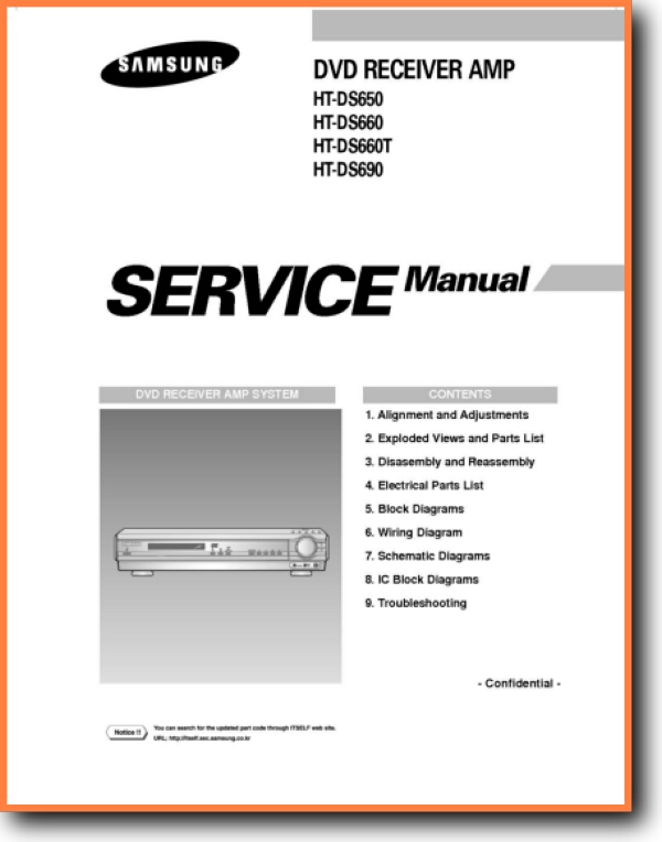 Samsung HTDS-650 Home Cinema - On Demand PDF Download English