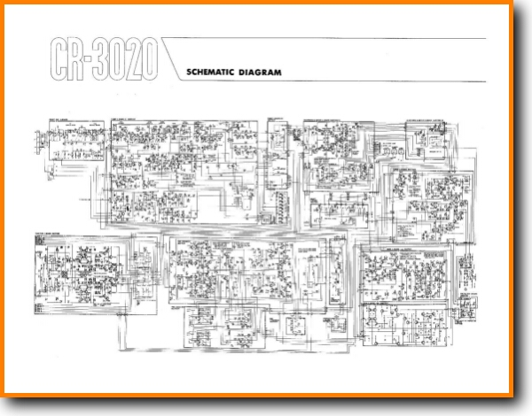 Yamaha CR-3020 Solid State Amp Receiver - On Demand PDF Download