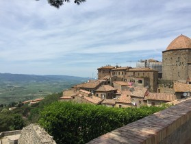 Views from the walls of Volterra