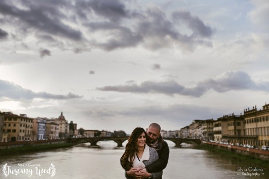 engagement in florence tuscany