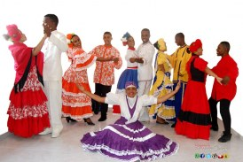 """Ballet Folklorico """"Cruz Araujo"""" en la versión 56 del Festival"""