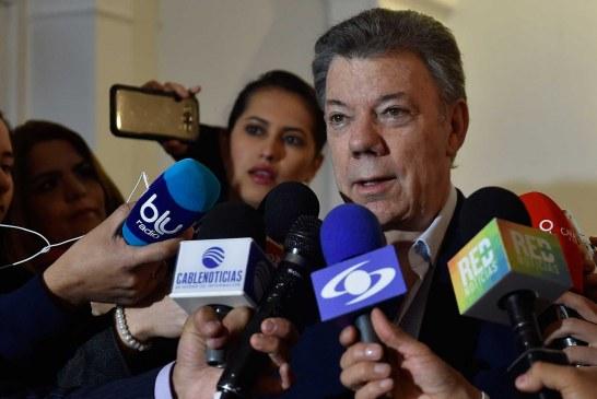 Santos: 'Por primera vez las Farc están reconociendo nuestra institucionalidad'