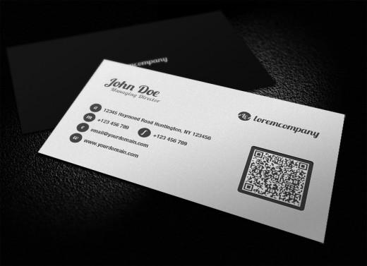 Amazing Examples of QR Code Business Card Designs - TutorialChip