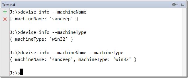 CLI tool using NodeJS Commander and NPM