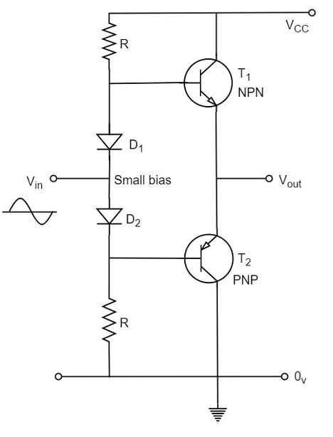 class ab power amplifier circuit