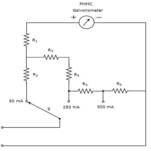 parallel circuit diagram with switch