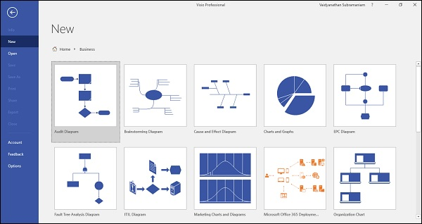 Microsoft Visio Working with Org Charts