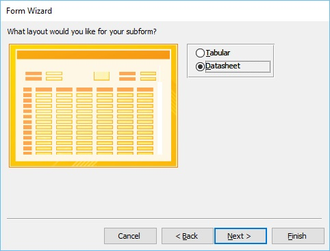 MS Access Create Form