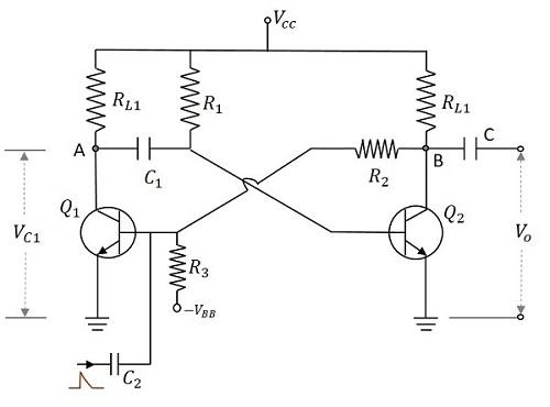 multi blinking led circuit