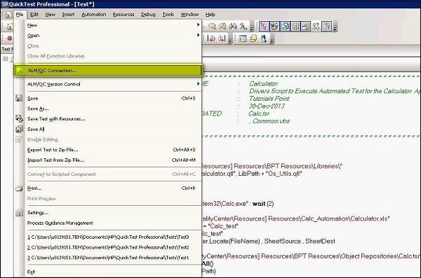 Best Qtp Resume Qtp Automated Testing Process Tutorialspoint Test Script Enter The Area Best Free Home Design