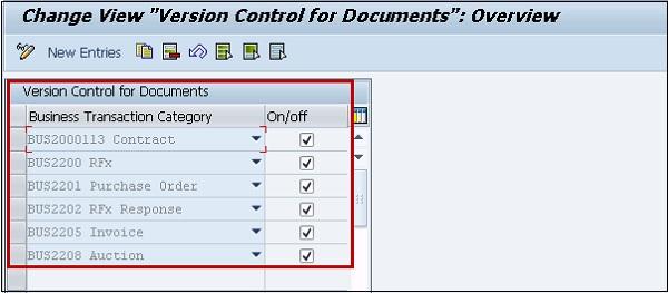 SAP SRM Contract Management