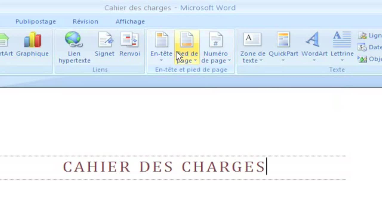 microsoft word quelle en tete our cv