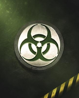 Conception affiche Danger Biohazard avec Photoshop