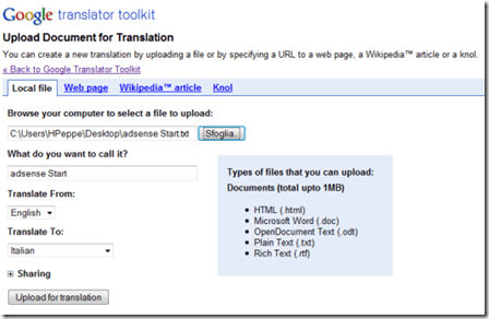Google-translator-toolkit