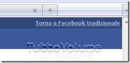 Barra scelta Facebook