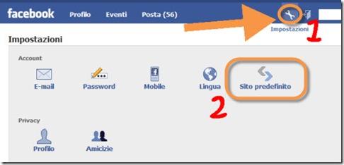 Imposta Facebook Lite