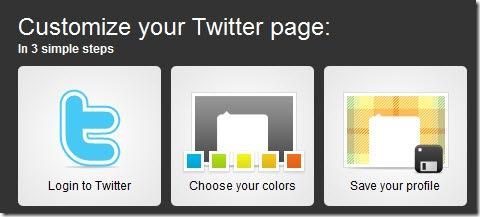 Personalizza template twitter