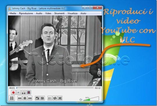Video YouTube con VLC