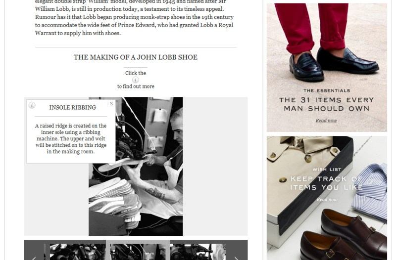 MR PORTER JOURNAL CONTENT