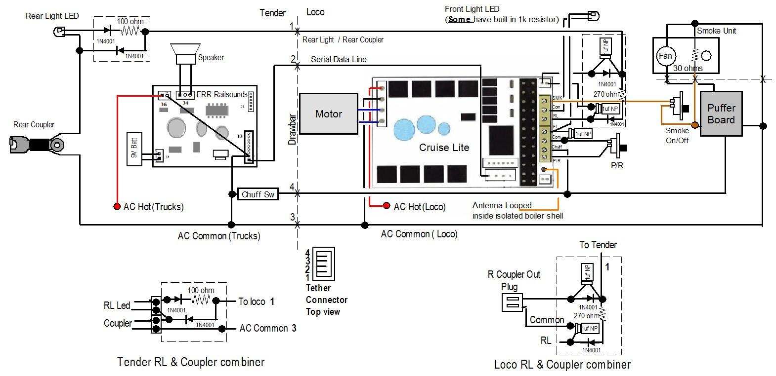 transformer wiring diagram for model trains
