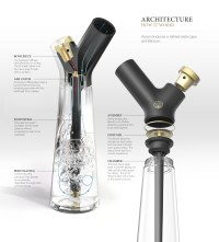 Aura Water Pipe : Modern Bong for Smoking Your Tobacco or ...