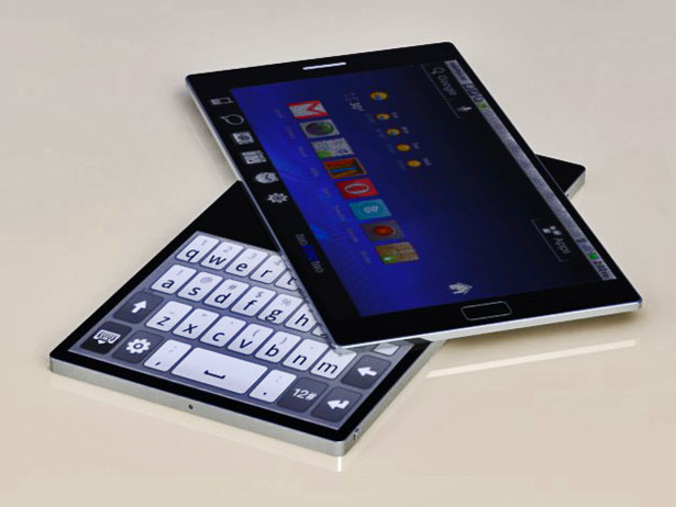 Rotatable Twin Touch Display Mobile Phone Gives You Freedom of - tuch mobil