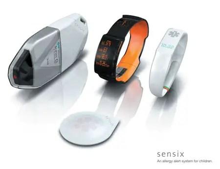 Sensix Allergy Alert System by Essential Design - Tuvie