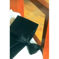 Custom Color Satin Cummerbund and Bow Tie Set