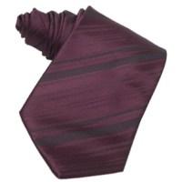Formal Ties : Custom Color Silk Striped Tie