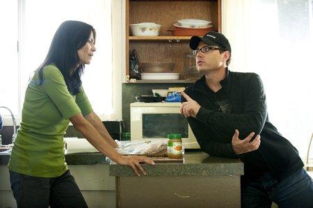 Blackstone's Ron E Scott with Michelle Thrush