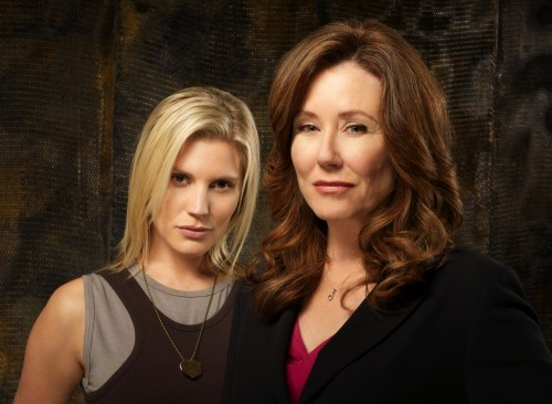 Battlestar Galactica - Katee Sackhoff and Mary McDonnell